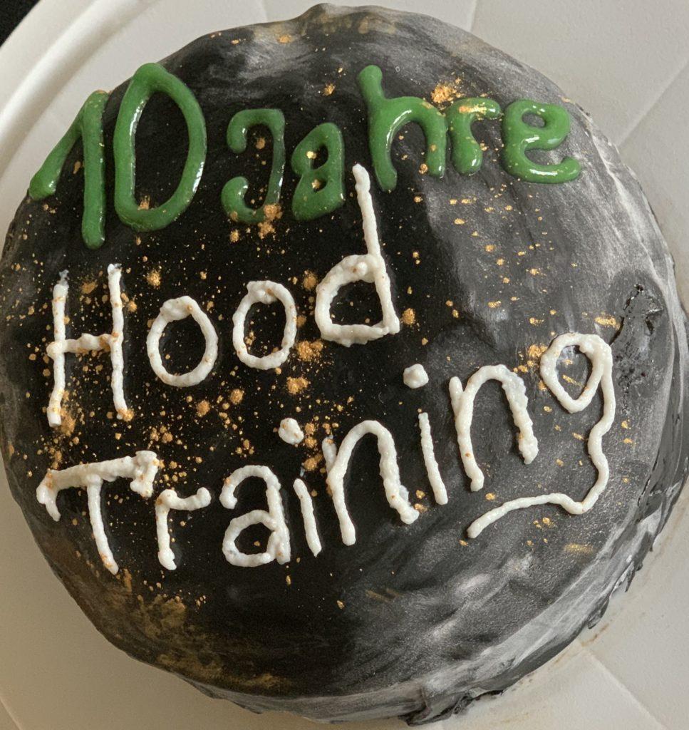 10 Jahre Hood Training